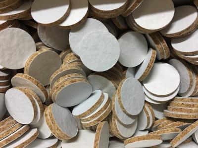 Rondelle de liège cal 20 - H 2 mm (10 pièces)