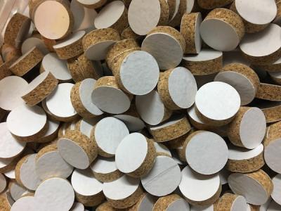 Rondelle de liège cal 20 - H 6 mm (10 pièces)